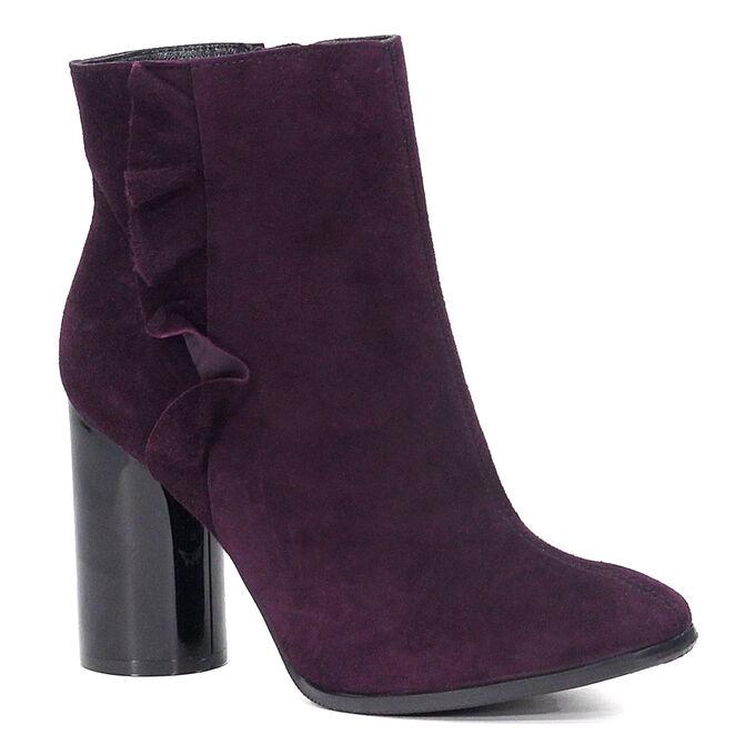 Ботинки Марко взрослое, артикул 12526, цвет фиолетовый, материал велюр нат