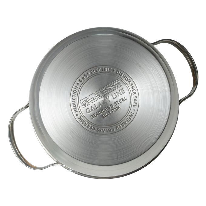 Набор посуды из высококачественной нержавеющей стали  8 предметов