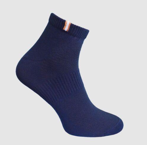 Носки мужские с сеткой тёмно-синий Crazy Sock