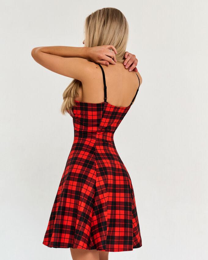 Платье Bona Fide: Cuty Cute Dress Afterschool Red