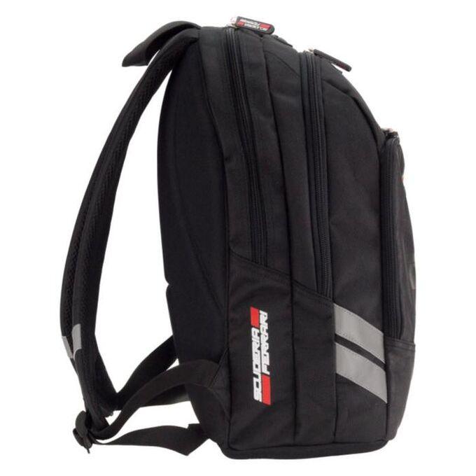 Рюкзак молодежный с эргономичной спинкой Ferrari, 41 х 32 х 17, для мальчика, EVA-спинка