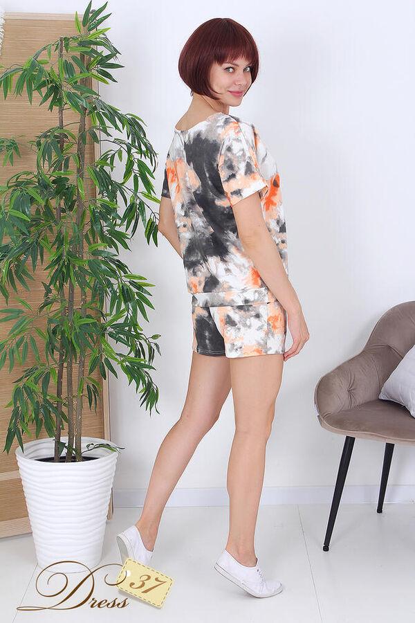 Костюм «Евгения» шорты оранжевый