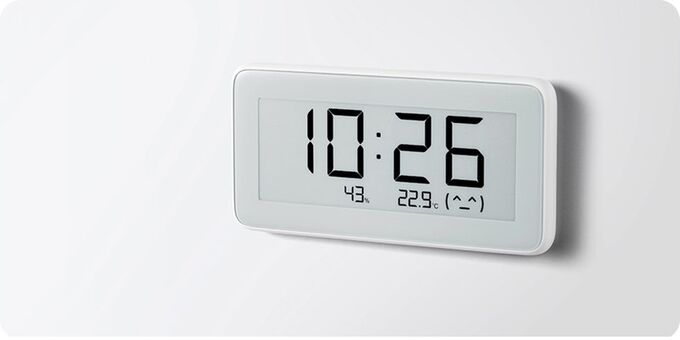 Часы с датчиком температуры и влажности Xiaomi Mijia Lywsd02MMC
