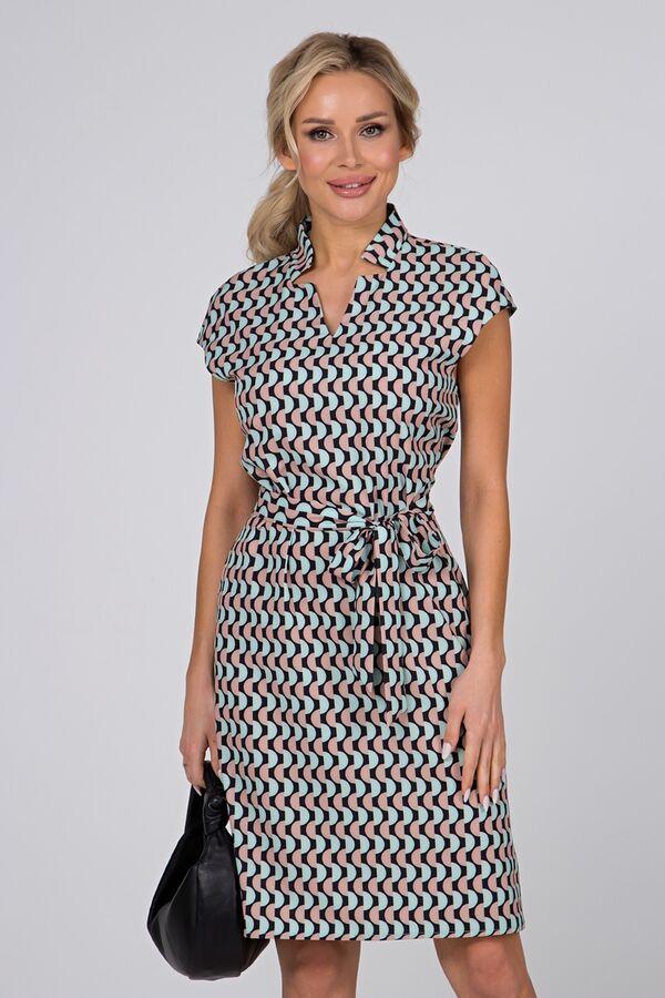 Платье Элвис №2. Цвет:геометрия