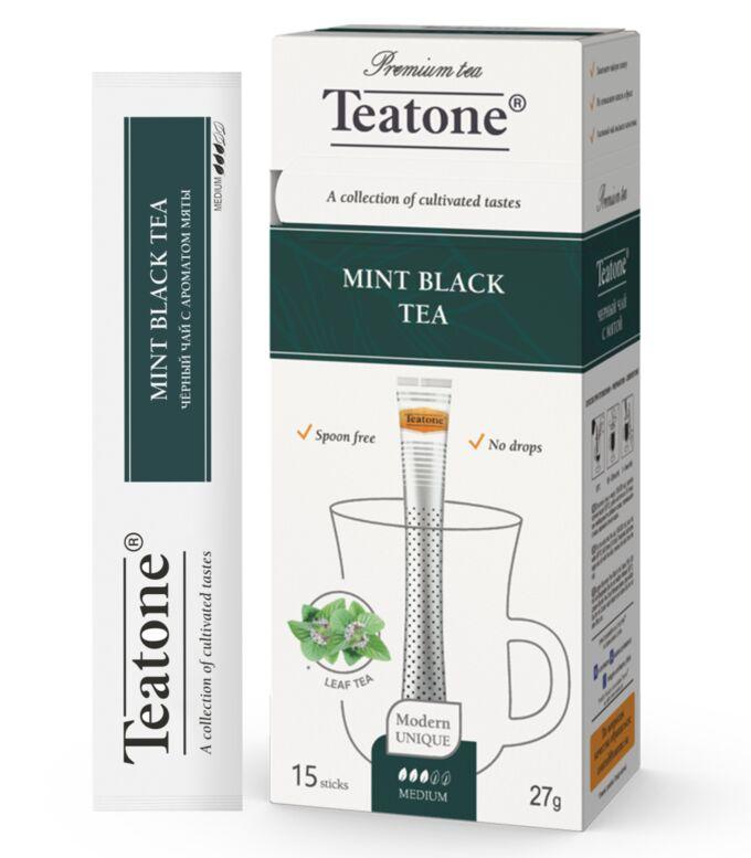 Чай черный аромат Мяты TEATONE 15стик*1.8г