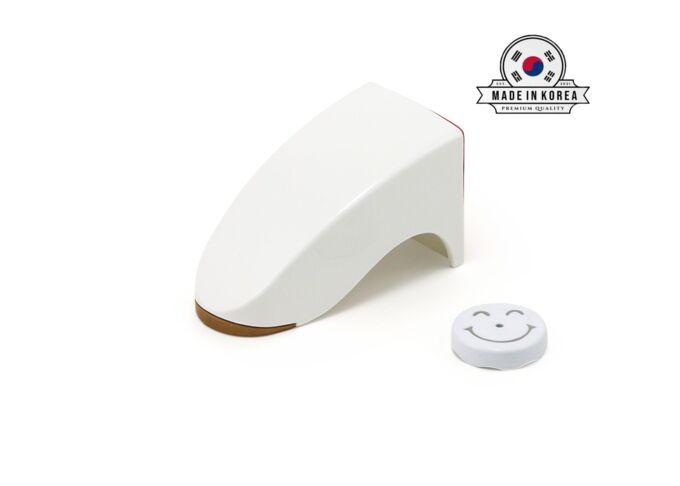 Магнитный держатель мыла белый