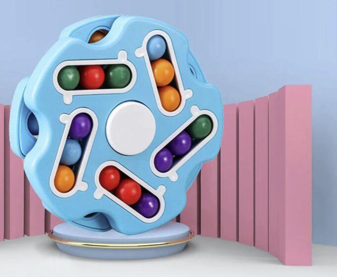 Логический антистресс Fidget Spinner Magic Cube