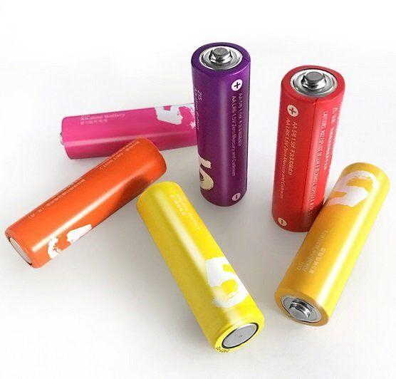 Батарейки Xiaomi АА (пальчиковые) Кейс 10 шт