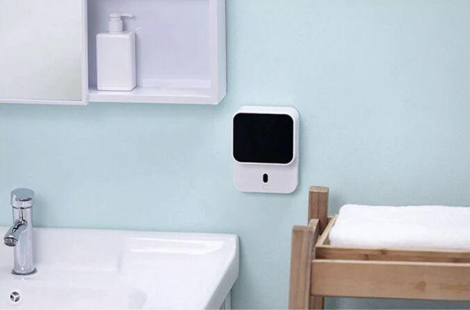 Автоматический дозатор мыла Xiaomi Hand Washing Machine X5 + Жидкое мыло 300 мл