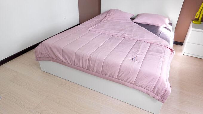 Комплект постельного белья GOCHU Solido set S розовый 2003