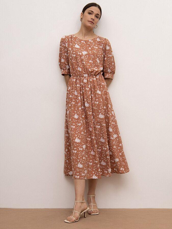 Платье с принтом PL1005/annick