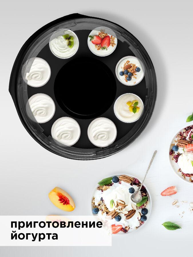 Сушилка для овощей и фруктов REDMOND RFD-0172, Черный/серый