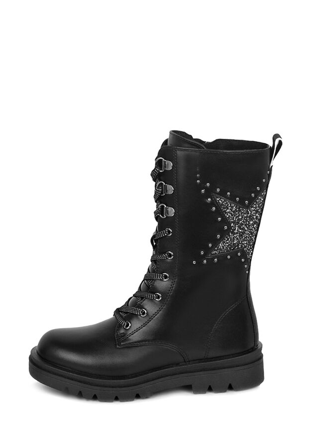 Ботинки детские зимние для девочек MYZ21AW-123