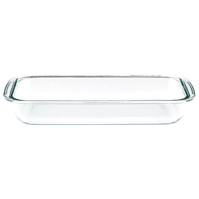 Форма стеклянная  прямоугольная 29х17х5см