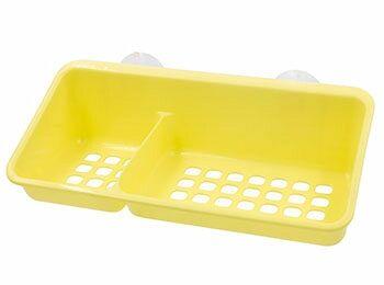 Полка Полка на присосках [KRITA] ЛЕТО Полка из полипропилена станет незаменимым помощником в ванной комнате или на кухне. Она позволяет экономить место и легко моется. Благодаря сетчатому дну вода не