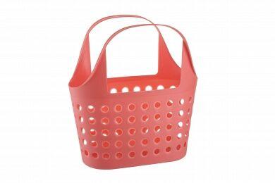 Корзина Корзина   325*228*360мм 7,6л [SOFT] КОРАЛЛ Корзинка Soft 7.6 — незаменимая вещь для людей, выбирающих удобный шопинг.  В магазине или на рынке, выбирая продукты, с такой корзинкой не надо бесп