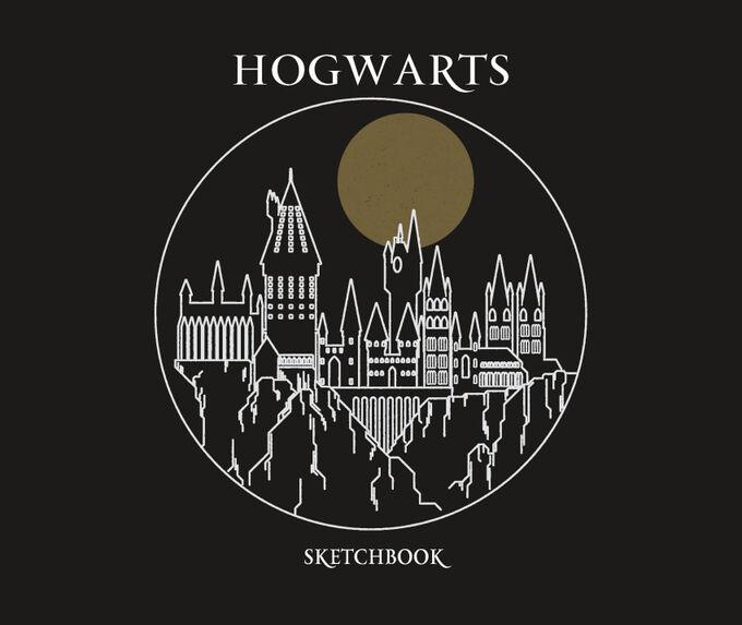 Скетчбук. Гарри Поттер. Хогвартс (тв.пер., 96 стр., 240х200 мм)