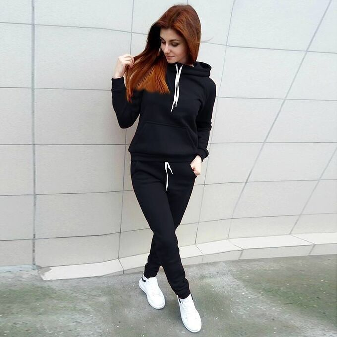 Утеплённый костюм чёрный цвет 40-42-44р во Владивостоке